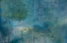 Poesis, pastel diptych 100x152cm on board