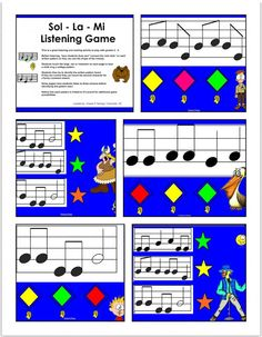 Favourite Find: Sol - La - Mi Listening Activity | Elementary Music Resources
