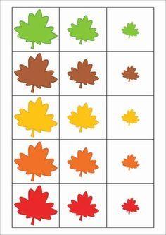 Resultado de imagen para small medium large worksheets for kindergarten