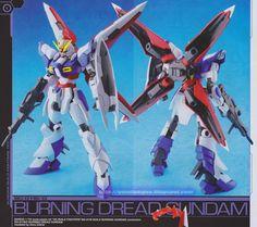 GUNDAM GUY: 1/144 Burning Dread Gundam - Customized Build