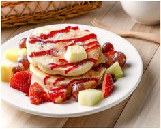 Fitness pancake recipe