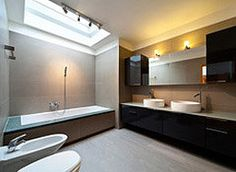 Bathroom remodeling guide. Includes tips on budgeting and details to focus on.
