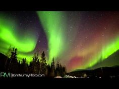 The World's Very First REAL-TIME Northern Lights Captured in 4K Ultra High Definition - YouTube