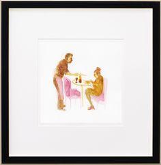 Simon Schneiderman, Cafe | LIPMAN ART