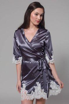 c6a09148e0 Robe for Bride Robe for Bridesmaid Lace Bridal Robe Wedding
