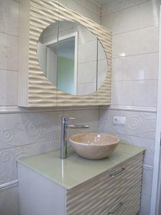 Dalga desenli banyo