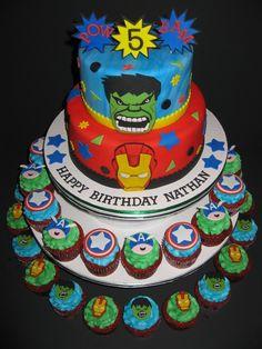 The Iron Avengers Cake Ideas