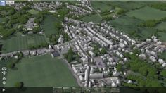 Sedbergh, Cumbria in the Yorkshire Dales National Park, now in 3D!