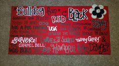 Pround to be a Georgia Bulldog! Georgia Bulldogs Football, Sec Football, College Football Teams, Football Season, Georgia Girls, Georgia On My Mind, University Of Georgia, State University, Celebration Quotes