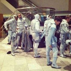 Peacekeepers on the Mockingjay set... AHHHHHHHHHHHHHHHHHHHHHHHHHHHHHHHHHHHHHHHHHHHHHHHHHHH freaking out.
