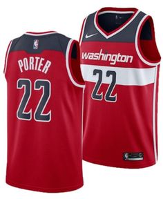 Nike Men Otto Porter Jr. Washington Wizards Icon Swingman Jersey c57aafd52