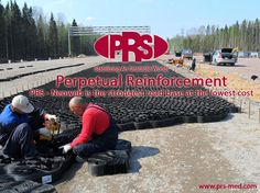 Perpetual Reinforcement / PRS - Neoweb is the strongest Road Base at the Lowest Cost