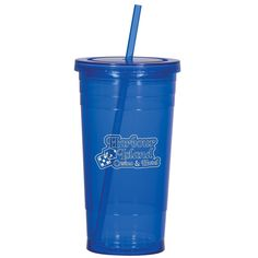 Custom Printed Double Wall Acrylic Tumbler With Straw - 24 Oz.. As low as $4.50 till July 20th. Minimum order of $48. Extras could be used at the after wedding home celebration (raffle prize?) for those that can't make it to Jamaica.