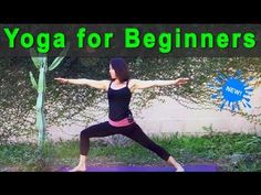 Yoga for Beginners on Youtube with Michelle Goldstein of Heart Alchemy Yoga (26 minutes)