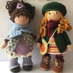 In this article we will share the most beautiful free amigurumi dolls crochet patterns. You can find everything you want about Amigurumi. Crochet Doll Pattern, Crochet Patterns Amigurumi, Amigurumi Doll, Crochet Dolls, Crochet Hats, Knitted Dolls, Mobiles En Crochet, Crochet Mobile, Doll Patterns