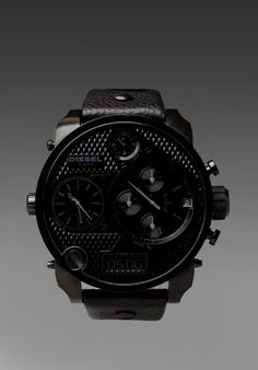 DIESEL DZ7193 SBA Watch in All Black - Diesel