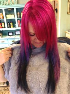 Got my hair done. I love these colors!! July 2015