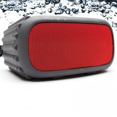 ECOROX Waterproof BT Speaker Orange- The all-in-one, compact audio system connects via Bluetooth to your digital audio player, blasting your favorite tunes w. Waterproof Bluetooth Speaker, Wireless Speakers, Speaker System, Audio System, Ipod, Computer Supplies, Iphone 5, Audio Player, Digital Audio