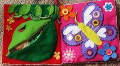 フエルトで作る手作り布絵本の作り方【ハンドメイド】: KINACO子育てブログ Busy Book, Coin Purse, Christmas Ornaments, Holiday Decor, Handmade, Design, Accessories, Bebe, Hand Made