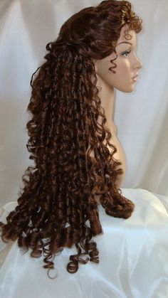 Phantom Christine Wig by TimeAfterTimeDesigns on Etsy.                   @Christine Da'ae
