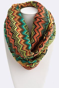 Chevron Infinity Scarf Order Here: http://www.facebook.com/pages/Hey-Good-Lookin-Boutique/365284796885361?ref=stream