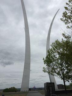 The U.S. Air Force memorial dedicated to all air force veterans