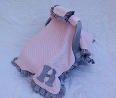 Car Seat Blanket/Canopy Made to Order by LittleSouthernDarlin, $75.00