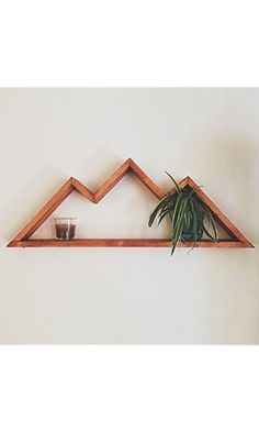 Geometric Mountain Shelf Best Price