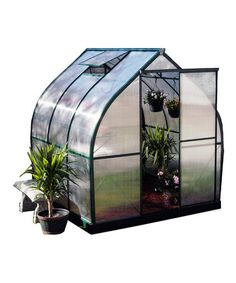 Green Tulip House Greenhouse Set by EXACO on #zulily today!