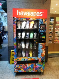 haviana's vending-machine - this would come in handy in this house