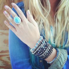@lablondevie has got some serious #style! #jewelry