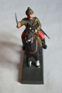 Juguetes Antiguos: Figura de plomo a caballo. Dea by Cassandra. - Foto 3 - 56598214
