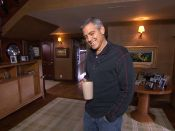 clooney does a classed up version of MTV cribs at his studio city home with charlie rose and talks family, politics, and his dog einstein. Mtv Cribs, Charlie Rose, Los Angeles Homes, George Clooney, Celebrity Houses, Clean Beauty, Best Actor, Coffee Break, Beauty Routines