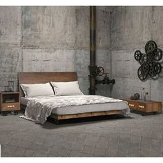 Ultimate #Interior Of #Industrial #Bedroom