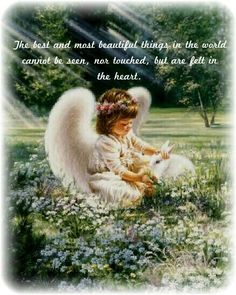 ♥The best and most beautiful things in the world cannot be seen, nor touched, but are felt in the heart.♥