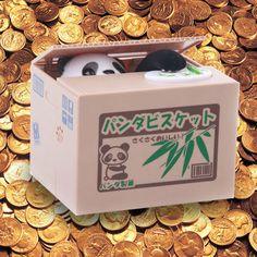2012 Christmas Special Gift - Coin Collecting Panda Bank - Cute Money Saving Bank. http://www.globalcaremarket.com/us/panda-coin-bank-box-christmas-gift.html