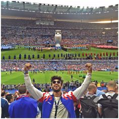 Time of my life!  bummed that France didn't win  But #RuiPatricio ...
