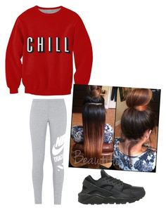 """""""Juiceless...PM mee"""" by qveenli ❤ liked on Polyvore featuring NIKE"""