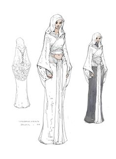 Padme's Outfit Concept | Sci-Fi Royalty Clothing