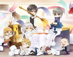 [Black Butler] Tea Time by Chun-Kyung