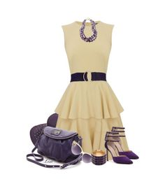 Love this dress. This dress could be paired with any color accessory.