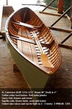 St Lawrence Skiff  Hillmark Boats