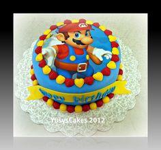 Mario Bross Cake