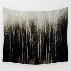 Forest Scenery Tapestry Wall Hanging Sandy Beach Picnic Throw Rug Blanket Camping Tent Travel Mattress Sleeping Pad WE Tapestry Nature, Tree Tapestry, Wall Tapestry, Forest Scenery, Boho Wall Hanging, Forest House, Throw Rugs, Printing On Fabric, Wall Decor