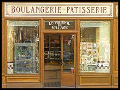 Montmartre - little shop 3 - bakery Boutiques, Dolls House Shop, Glazed Tiles, Classic Architecture, Creative Architecture, French Cafe, Shop Fronts, Lovely Shop, Shop Around