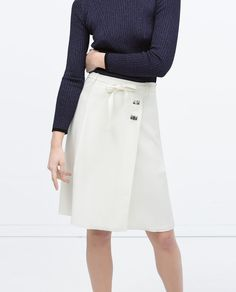 ZARA - WOMAN - CREPE SKIRT