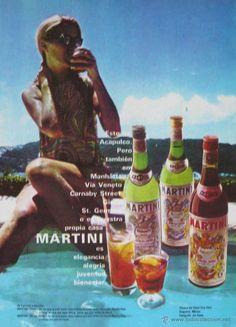 MARTINI. AÑOS 60 ( LICORES )