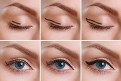 Steps for Applying Cat Eyeliner