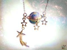 「土星はペット。」なネックレス