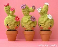 Cacti // Amigurumi // Crochet